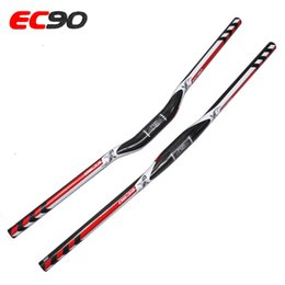 Wholesale Mtb Riser Handlebar - Newest Full Carbon Fiber MTB Bicycle Handlebar 3K Glossy Mountain Road Bike Handlebar Riser Flat Handlebar