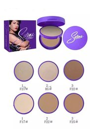 Wholesale Oil Decking - HOT NEW Selena Collection Face Powder Double-deck 3 color 3pcs lot