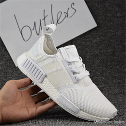 Wholesale Table Tennis Shoes For Women - 2017 New NMD Runner PK Primeknit Men's & Women's Running Shoes Fashion Running Sneakers for Men and Women Free Shipping Size 36-46