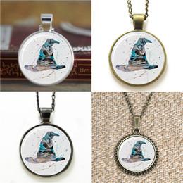 Wholesale Hat Pendant Necklace - 10pcs HP Sorting Hat Art Print Glass Photo Necklace keyring bookmark cufflink earring bracelet