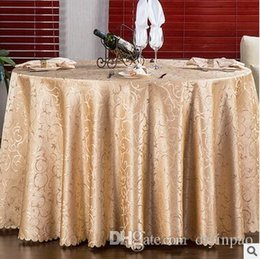 Wholesale Satin Wedding Table Cloths - Europe Jacquard 160*160 Table cloth Table Cover square Banquet Wedding Party Decoration Tables Satin Fabric Wedding Tablecloth Home Textile