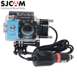 Wholesale sj sports - Wholesale- Original SJCAM Brand SJ4000 Series Sports DV Waterproof Case Charger for SJ4000+ Plus SJ4000 Wifi SJ 4000 etc Cam on Motorcycle
