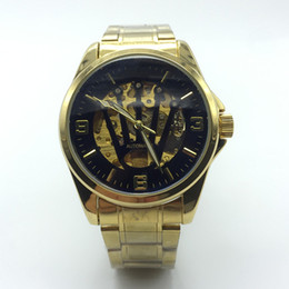 Wholesale Luxury R Watches - New R watches men luxury brand classic watch automatic men high quality fashion watches for mens black gold water resistant free shipping