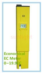 medidores de conductividad Rebajas Al por mayor- EC Conductivity Pen Meter 0-19.99EC