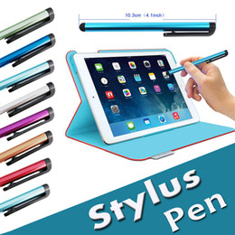 Wholesale Pen Tablet Brands - Capacitive Stylus Pen Touch Screen Universal Highly Sensitive Pen For iPhone X 8 7 Plus 6 6S SE 5S iPad Samsung S8 S7 Edge Note 5 Tablet PC