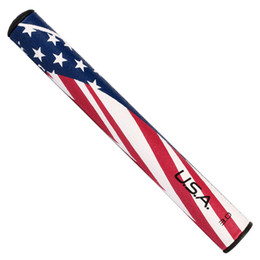 Wholesale Golf Flags - Golf Club Putter Grip US Flag Legacy Midnight 2.0 3.0 5.0. Red Blue High Quality Free Shipping from USA
