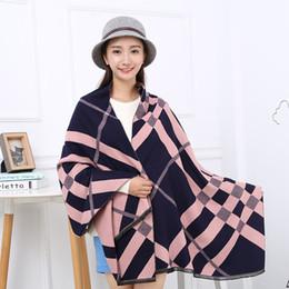 Wholesale cheap wholesale pashmina - 2017 new winter popular British style fashion warm cashmere scarf oblique Babage manufacturers wholesale cheap