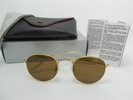 Wholesale Lunette Steampunk - Women Round Sunglasses Men Brand Designer Rayed Sun Glasses Lunette Gafas Oculos De Sol Feminino Eyewear Steampunk Goggles