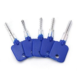Wholesale High Quality Door Locks - High quality NEW GOSO cross lock try out keys professional house door unlock locksmith tools lock pick set