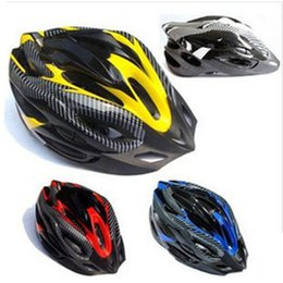 Wholesale Giant Mountain Bike Helmets - Cycling Helmet Professional Giant Bicycle Capacete Ciclismo Mountain cycle Bike Helmet shell Carbon fiber 20 vents Protective Gear Outdoor