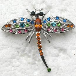 Wholesale Dragonfly Pin Rhinestone - Wholesale Dragonfly Rhinestone Pin brooches C101991