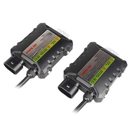 Wholesale Hid Slim 55w Ballast Replacement - Universal 2PCS Car Motorcycle 12V 55W Slim HID Digital DC Ballast Xenon Kit Replacement Error Warning Canceller
