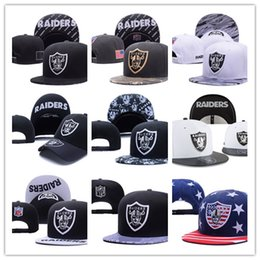 Wholesale Snapback Hats Raiders - Free Shipping Oakland Adjustable Snapback Hat many Snap Back Hat For Men Basketball Cheap raider Hat Adjustable men women Baseball Cap