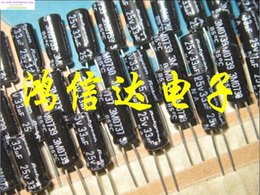 2019 kondensator blau Großhandels-2015 Bolsa Superkondensator 50PCS 25v33uf 5x11 Rubycon-Elektrolytkondensatoren unpolarisierte Na-Reihe 85 Grad geben Verschiffen frei