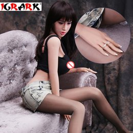 Wholesale Chinese Love Dolls - igrark Real Silicone Sex Doll For Men,chinese Love doll reborn Big Breast Ass Realistic Female Vagina 165cm158cm140cm TPE Sex Dolls