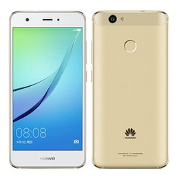 "Wholesale Huawei Fhd - Original Huawei Nova Cell Phone Snapdragon 625 MSM8953 Octa Core 4GB RAM 64GB ROM Android 6.0 5"" FHD 12MP Fingerprint ID Smart Mobile Phone"
