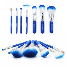 Wholesale Makeup Brush 7pcs Set - 7pcs Kits Make Up Blending Brush Sets Face Foundation Brush Set Cream Powder Multipurpose Beauty Makeup Tool Cosmetic Brush Kits