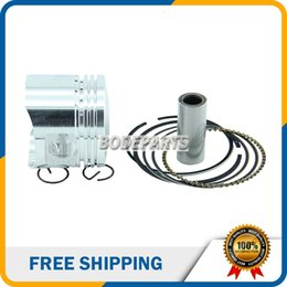 Wholesale Engine Air Cooled - Piston 54mm Ring 14mm Pin Piston Ring Kits Set for Lifan 138cc Air Cooling Engine ATV Motorcycle Pit Bike HH-103A