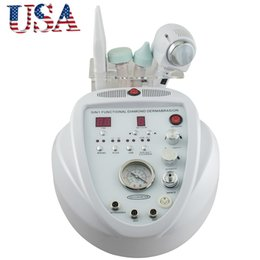 Wholesale Diamond Microdermabrasion 5in1 - Free Shipping From USA New Arrival High Quality 5in1 Diamond Microdermabrasion Ultrasonic Dermabrasion Peeling Scrubber Machine