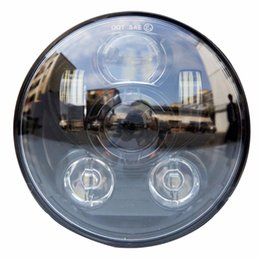 Wholesale Headlight Projector Lamp - Newest 5.75inch Motorcycles Headlight for Harley Davidson 45W Daymaker Projector LED Head lamp