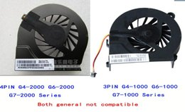 Wholesale G4 Fan - 3 pin and 4 pin FAR3300EPA Cool fan for HP pavilion G6-2000 G4T G7-2000 G6 G56 G7 CQ56 G42 CQ62 G62 G4-1000 FAAX000EPA MF75120V1-C050-S9A