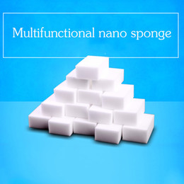 Wholesale Melamine Eraser - Multi-function 10*6*2 cm white magic cleaning melamine sponge Eraser High quality magic sponge magic super cleaning gel