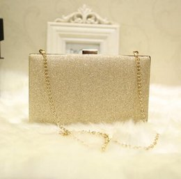 Wholesale Diamond Hand Bags - sales brand package shiny delicate hand bag beautiful diamond club Dinner Bag simple and elegant wedding banquet sequins small package