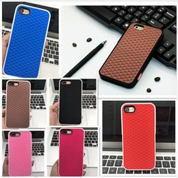 Wholesale Iphone 5s Soft Design - Fashion Van Waffle Silicon Shoe Design phone Case 3D Soft Rubber gel back cover case for iphoneX iphone8 plus 7 6splus 5S SE 4S