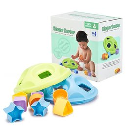 Wholesale Educational Toys For Toddlers - Baby Toy Shape Sorter Shape Sorting Blocks for Toddlers to Learn the Colors and Shape Safe Play Starts with Safe Toys Dishwasher Safe