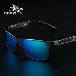 Wholesale Aluminum Magnesium Alloy Sunglasses - Wholesale-Aluminum Magnesium Sunglasses men polarizing sunglasses super light driving Sunglasses Goggle Eyewear Accessories