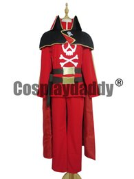 Wholesale Pirate Queen Costume - Queen Emeraldas Version 2 - Space Pirate Cosplay Costume