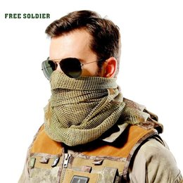 Wholesale Head Scarf Camping - outdoor hiking camping riding windproof multi-purpose headkerchief tactical scarves bike mask big head scarf