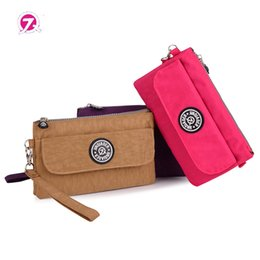 Wholesale Ladies Nylons Body - Wholesale- Fashion Women Waterproof Nylon Wallet Card Packaage Shoulder Bag Women Waist Messenger Bag Ladies Handbags Feminina Bolsos Mujer