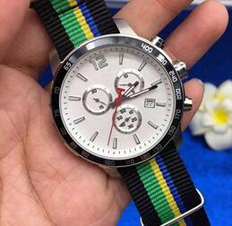 Wholesale Tour France Watch - Luxury Brand watches men Tour De France Special Edition 2016 Watch quartz chronograph sports fabric band watch Mens dress WristWatches
