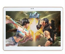 Wholesale Google Phone Calls - 10.1 inch Octa Core Dual Cameras 3G 4GTablet PC google Android 5.1 with Dual Camera MTK6592 WiFi OTG Bluetooth