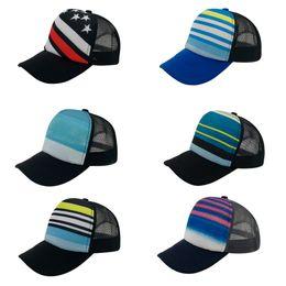 Wholesale Trucker Hats For Cheap - Wholesale Sublimation Pattern Fashion Trucker Mesh Hat Cheap Shade Baseball Caps Snapbacks For Men's Women's Adult 6 Colors