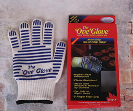 Wholesale Amazing Surfaces - OVEN GLOVE OVE GLOVE As HOT SURFACE HANDLER AMAZING Home golves handler Oven 2017 New Arrival Useful Gloves