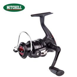 Wholesale Mitchell Saltwater Spinning Reels - MITCHELL RZ 1000-4000 Spinning Fishing Reel 4+1BB with Larger Spool 4kg Max Brake Force Sea Boat Metal Spool Fishing Reel