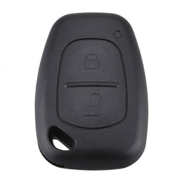 Wholesale Remote For Renault Replacement Case - Guaranteed 100% Replacement 2 Buttons Remote Key Case For Renault Opel Vauxhall for Nissan Vivaro Traffic Primastar Free Shipping