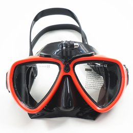 Wholesale Mask Straps - Snorkeling Equipment Creative Style Design Diving Goggles Scuba Diving Snorkeling Waterproof Frameless Snorkeling Mask With Head Straps