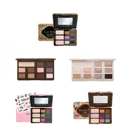 Wholesale Eye Shadow Cute - High-quality ! NEW Makeup sugar pop totally cute cat Chocolate Chip Palette CHOOSE MATTE OR WHITE 11 Color Eye Shadow Palette free shipping