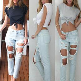 Culture t shirts en Ligne-Gros-été mode femmes occasionnels chemises en coton culture noir blanc o cou t-shirt tops manches courtes chaud t-shirt S-XL