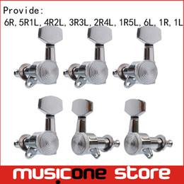 Cromo bloqueado cadena izquierda y derecha Clavijas de afinación de la guitarra Clavijas acústicas acústicas populares sintonizadores Cabezas de la máquina desde fabricantes