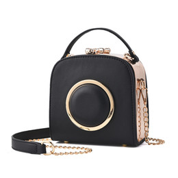 Wholesale Spring Tote Handbags - FASCICOCO 2017 Spring Smiley Real Leather Tote Bag Women Trapeze Fashion Designer Handbags High Quality Ladies Bags Vintage Crossbody Bags11