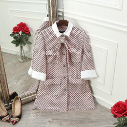 Wholesale Shaping Long Skirt - New coat woolen coat female autumn and winter clothes 2016 profile shape coat Lapel Neck woolen coat female long section MLSJ010
