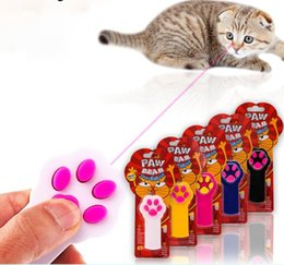 Wholesale Funny Exercise - PAW BEAM Funny Pet Cat Kitty Dog Interactive Automatic Red Laser Toys Pointer Exercise Toy Indicator