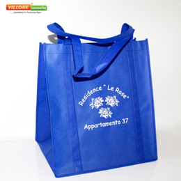 Wholesale Bag Companies - Wholesale- Cheap Wholesale Superior Quality Free Custom Eco Bags Reusable Shopping Bags With Company Logo For shopping
