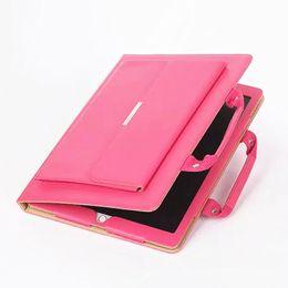 Wholesale Resistance Design - for iPad Pro9.7 Cases PU Leather Portable Handbag Design Shockproof UNBreak Tablet PC Case for IPAD 2 3 4 MINI4 mini1 2 3 Air1 2