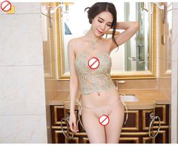 show de coelho Desconto 2020 LINGERIE Novo Design Lingerie para mulheres sexy do laço transparentes conjuntos de roupa interior erótica Lingerie Moda