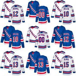 Wholesale Xl Wine Glasses - 2017-2018 Season New York Rangers Jersey 10 J.T. Miller 12 Matt Puempel 13 Kevin Hayes 15 Tanner Glass Custom Hockey Jerseys